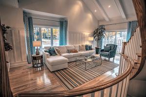 west shore beach club model home design