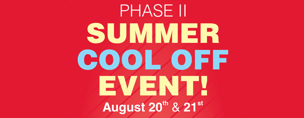 summer cool off event